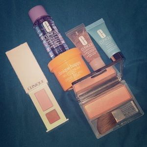 Clinique makeup and skin care set